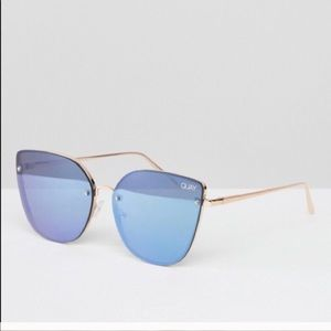 Quay Australia mirrored sunglasses.